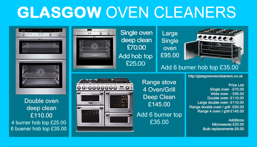 Glasgow oven-cleaning-price-list-short
