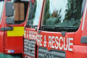 Fire appliances attend house fire