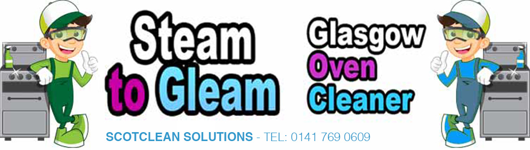 Oven Cleaning Glasgow - steam to gleam logo
